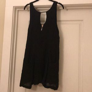 Free people black dress size small